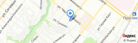 Стенд Vivay на карте Днепропетровска