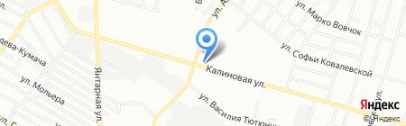 Апрель на карте Днепропетровска