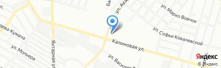 Злагода на карте Днепропетровска