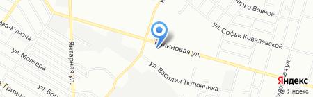 Дніпропетровська дитяча художня школа №2 на карте Днепропетровска