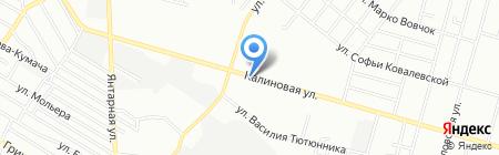 Хороший на карте Днепропетровска