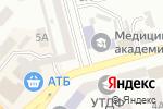 Схема проезда до компании Наминайко в Днепре