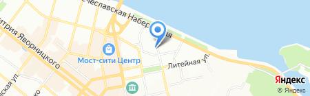 МКС на карте Днепропетровска