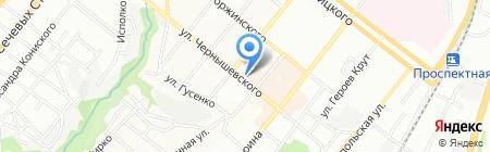 Виртуаль на карте Днепропетровска