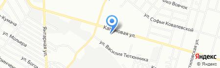 Магнолия на карте Днепропетровска