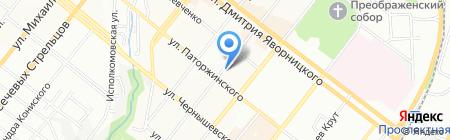 Банкомат ФИДОБАНК на карте Днепропетровска