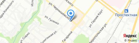 ANYWAY на карте Днепропетровска