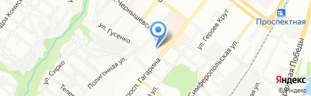Локос на карте Днепропетровска