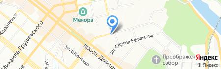 Bebe Blanc на карте Днепропетровска
