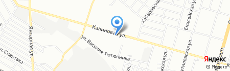 Татевик на карте Днепропетровска