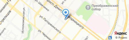 Українсько-Японський центр на карте Днепропетровска