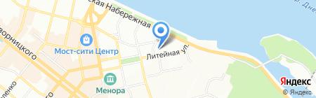 Электротранс на карте Днепропетровска