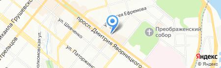 Alter Ego на карте Днепропетровска