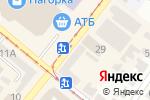 Схема проезда до компании Сбербанк, ПАТ в Днепре