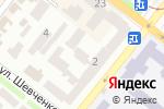 Схема проезда до компании Центр тепла, ЧП в Днепре
