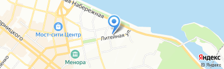Маэстро на карте Днепропетровска