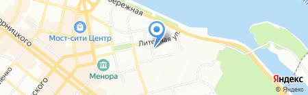 Промэнергосервис на карте Днепропетровска