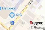 Схема проезда до компании Fosso в Днепре