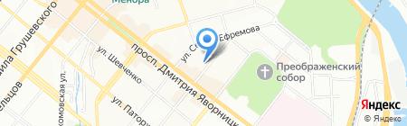 Марко Поло на карте Днепропетровска