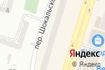 Схема проезда до компании Студия окон в Днепре