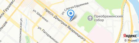 Anima на карте Днепропетровска