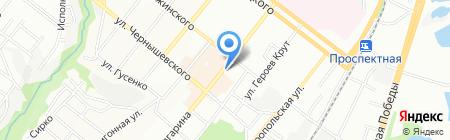 Сервис на карте Днепропетровска