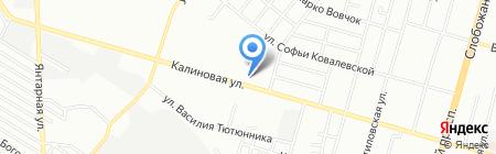 Онікс плюс ПТ на карте Днепропетровска