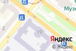 Схема проезда до компании Украинско-американский лингвистический центр в Днепре