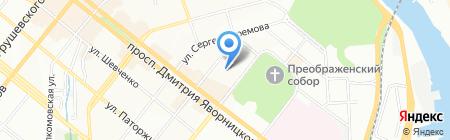 Поликлиника на карте Днепропетровска