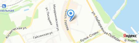 SunNY CT на карте Днепропетровска