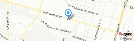 Двина ЧП на карте Днепропетровска
