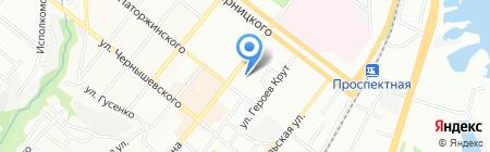 Пан Чоботар на карте Днепропетровска