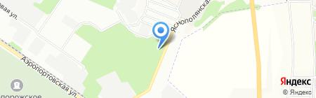 Автосфера+ на карте Днепропетровска