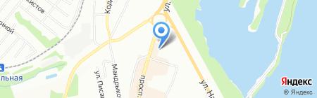 Весна на карте Днепропетровска
