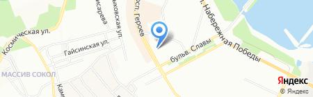 INTERIOR на карте Днепропетровска