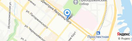 Еврокомп на карте Днепропетровска