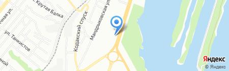 Харківський м`ясокомбінат на карте Днепропетровска