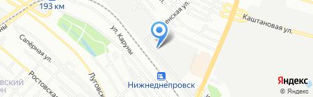 Ситон ЧП на карте Днепропетровска