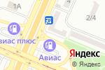 Схема проезда до компании Харківські ковбаси в Днепре