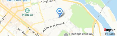 SOBOL на карте Днепропетровска