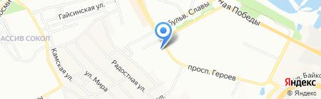 ProStor на карте Днепропетровска