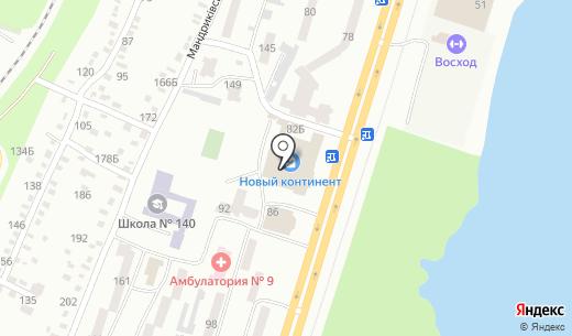 Sia Prestig. Схема проезда в Днепропетровске