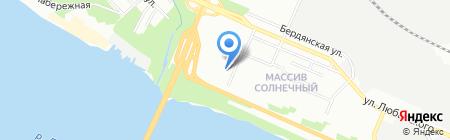 АТЕЛЬЕ КЕРАМИКИ на карте Днепропетровска