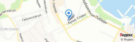 Ю і К ПТ на карте Днепропетровска