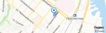 Терминал на карте Днепропетровска