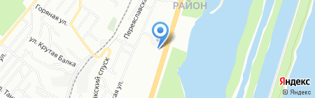 ШЕРАТОН ТРЕЙД на карте Днепропетровска