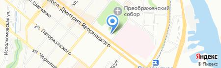 Спеціалізована багатопрофільна школа №23 з поглибленим вивченням англійської мови на карте Днепропетровска