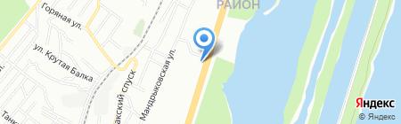 Точка-М на карте Днепропетровска
