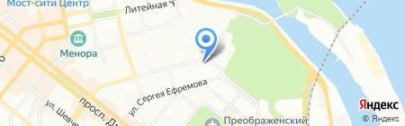 MONTE NAPOLEONE на карте Днепропетровска