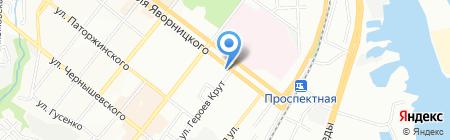 Любимая на карте Днепропетровска